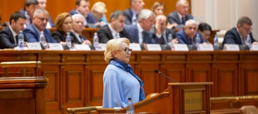 Premierul Romaniei: Decat sa vorbesc liber si sa spun prostii, mai bine sa am o hartiuta