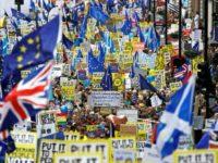 BREXIT. Protest de amploare la Londra, sute de mii de oameni cer un nou referendum cu privire la Brexit. LIVE VIDEO