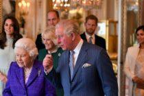 Regina Elisabeta a oferit o receptie la Palatul Buckingham pentru Printul Charles