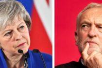Theresa May a discutat cu liderul opozitiei laburiste Jeremy Corbyn despre solutia la impasul Brexit