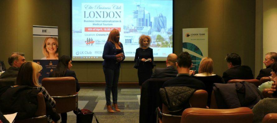 Elite Business Club a organizat o noua intalnire la Londra. Bianca Tudor: A fost una dintre cele mai reusite editii! Cu sau fara Brexit, afacerile prospera in Marea Britanie