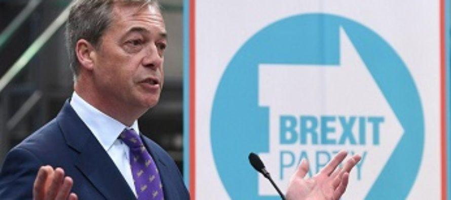 Britanicii, din nou adeptii lui Nigel Farage! Partidul Brexit ia fata conservatorilor si laburistilor in sondajele privind alegerile europarlamentare