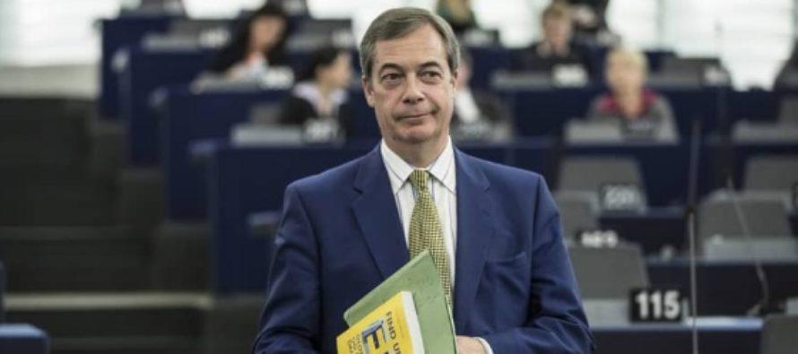 """Nigel Farage a lansat noul Partid Brexit cu promisiunea unui """"revolutii democratice"""". El isi propune sa zguduie scena politica britanica, incepand cu alegerile europarlamentare"""