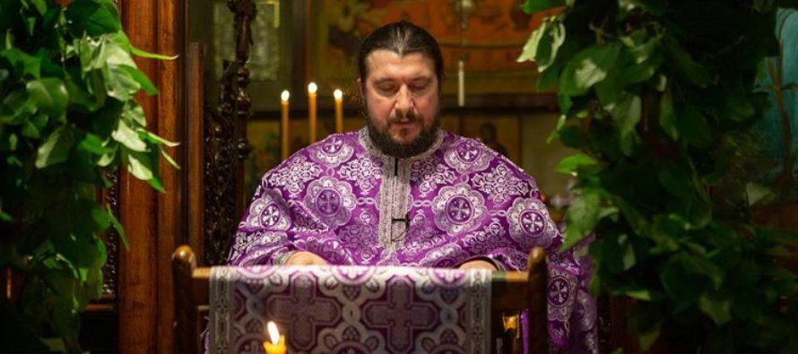 Cuvant de Inviere de la Parintele Constantin Popescu de la Biserica Sf. Gheorghe din Londra: Omul, cununa creatiei, a fost restaurat prin Invierea Domnului!