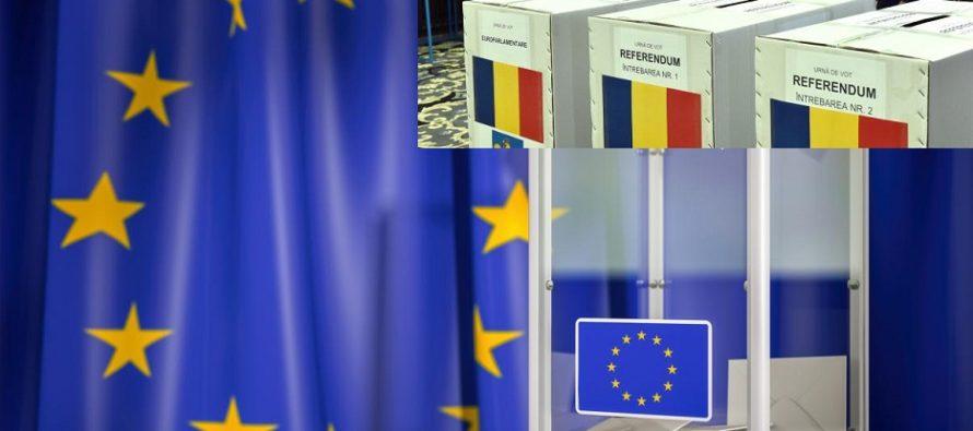 ROMANIA ALEGE! Prezenta la vot la alegerile europarlamentare si la referendumul pentru justitie