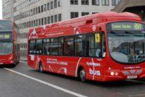 TfL introduce la Londra prima flota de autobuze alimentate cu hidrogen. Scopul este acela de a combate problemele legate de poluare