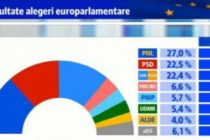 Rezultate finale alegeri europarlamentare 2019. Clasamentul final al partidelor politice cu votul din diaspora