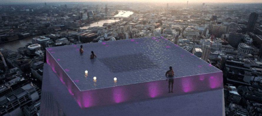 Londra vrea sa construiasca cea mai mare piscina de exterior din lume, detronand Singapore. Video