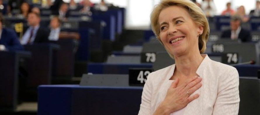 Ursula von der Leyen a fost aleasa in functia de presedinte al Comisiei Europene