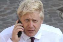 Boris Johnson a cerut o discutie telefonica cu presedintele Romaniei. Deocamdata nu poate fi vorba despre o vizita a lui Iohannis in Marea Britanie