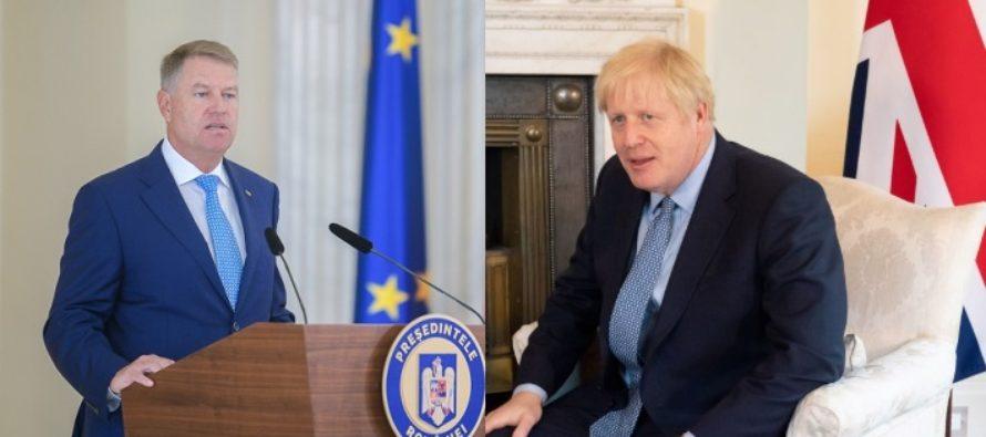 Ce a discutat Iohannis cu Boris Johnson. Relatia bilaterala a Romaniei cu Marea Britanie ar putea intra in sfera politicii SUA, in detrimentul UE