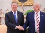 Presedintele Iohannis a fost primit de Donald Trump la Casa Alba. S-a adoptat o declaratie comuna privind intarirea relatiilor Romania-SUA