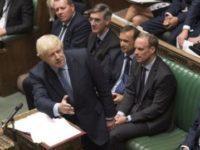 Boris Johnson, infrant in Parlamentul de la Londra. Legislativul a votat pentru amanarea Brexit