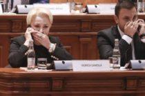 Guvernul Romaniei condus de Viorica Dancila a picat. Motiunea de cenzura a trecut cu 238 de voturi