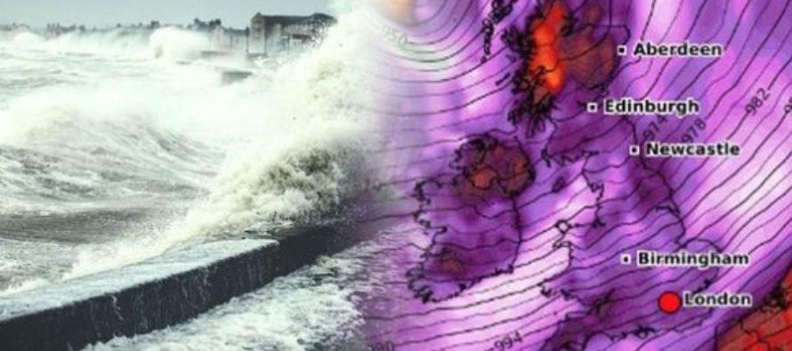 Marea Britanie este afectata de furtuna Ciara, mai multe zboruri cu destinatia Londra au fost anulate