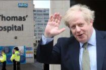 Premierul britanic Boris Johnson a iesit din spital si s-a retras la Checkers, resedinta oficiala a prim-ministrilor britanici