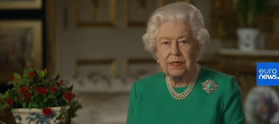 Regina Elisabeta a transmis un mesaj mobilizator catre populatie: Ma adresez voua intr-un moment de mari perturbari pentru tara noastra