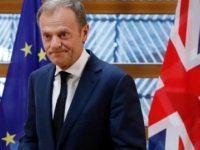 Donald Tusk: UE va fi de acord cu amanarea Brexit doar daca Theresa May poate garanta ca acordul va fi votat de Parlamentul de la Londra