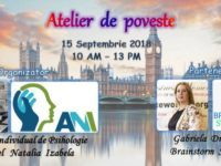 """""""Atelier de poveste"""" te asteapta pe 15 septembrie la Londra. Un workshop de dezvoltare personala prin povesti terapeutice cu Gabi Dragomir si Natalia Anghel"""
