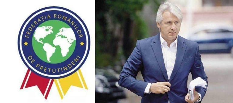 Federatia Romanilor de Pretutindeni cere demisia Ministrului Finantelor, dupa declaratiile privind limitarea permisului de munca intr-o tara straina