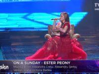 Ester Peony - On a Sunday. Asculta piesa care va reprezenta Romania la concursul Eurovision 2019 de la Tel Aviv