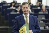 Partidul Brexit condus de Nigel Farage s-a clasat pe primul loc in alegerile pentru Parlamentul European
