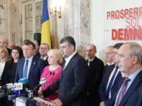 Viorica Dancila a demisionat de la sefia PSD, conducerea partidului a fost preluata de Marcel Ciolacu in regim de interimat